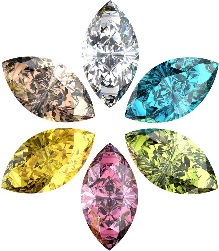 Schneider & Kollegen - farbige Diamanten
